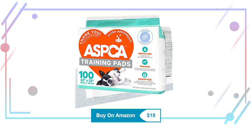 ASPCA Dog Training Pads With Scent