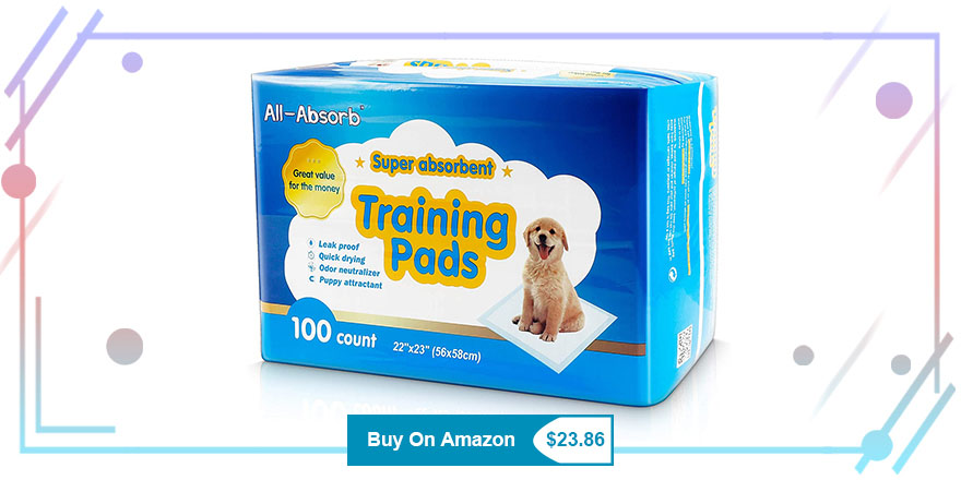 All-Absorb Puppy Pee Pads